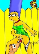 Virgin Marge takes her panties off and gets screwed by dick